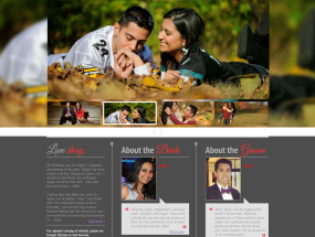 Hetal And Anjan Wedding Website